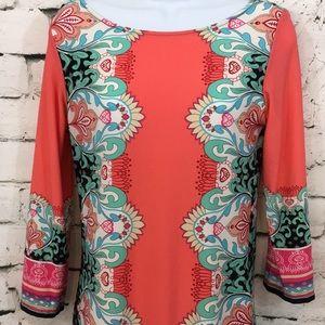 Haani Dresses - Haani cute shift dress in bright colors
